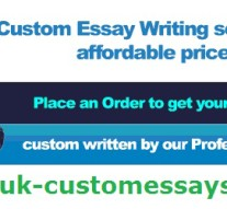The Advantages Fetched from Custom Essay Writing Service