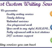 Providing Custom Essay Writing Service at an Affordable Cost